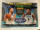 2020-21 Panini Certified Basketball Hobby Box - Factory Sealed!