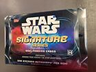 2021 TOPPS STAR WARS SIGNATURE SERIES - SEALED HOBBY BOX - 1 Autograph