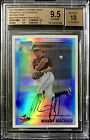 2010 Bowman Chrome REF Manny Machado Auto BGS 9.5 10 Gem Mint 💎 Autograph RC