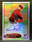 2012 Topps Chrome Baseball Autograph Rookie Variations Visual Guide 49