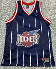 NWOT'S VTG Nike Houston Rockets NBA Spaceship Throwback Jersey L Blank Authentic