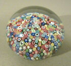 BACCARAT France ZODIAC Silhouette Millefiori French Art Glass Paperweight 1978