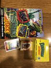 Topps Dinosaurs Attack Card set, poster and box