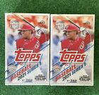 LOT of 2 BOXES -- 2021 TOPPS SERIES 1 BASEBALL FACTORY SEALED HOBBY BOX IN HAND