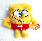 Ty Beanie Baby - MUSCLEBOB BUFFPANTS (Spongebob Squarepants) with TAGS