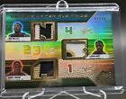 2008-09 SPx LeBron James Wallace Gibson Winning Materials Trios Patches 7 15