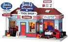 Lemax Village Collection Jack's Auto Parts & Tool Shop Craftsman Tools Christmas