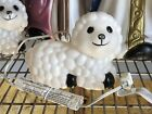 Baby Nativity Sheep Blow Mold W Cord