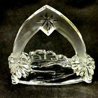 Waterford Marquis Little Town Of Bethlehem Crystal Nativity Collection Manger