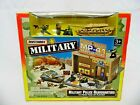 1996 Matchbox Military Police Headquarters 13 Piece Fold Up Playset 67210 2
