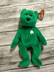 St. Patty's Special 1997 Retired Erin The Bear Rare Original Ty Beanie Baby MWMT