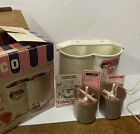 1979 Vintage Norelco Lickety Split Ice Cream Machine HB1114 Lightly Used Tested
