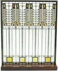 Frank Lloyd Wright Tree of Life Stained Glass 115 x 95 Desktop Plaque