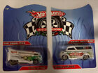 Hot Wheels Mexico Convention 2010 VW Drag Bus + Dairy Delivery 2 pieces 164