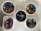 Collectors Plate Lot Native American Indian Beautiful Pride Plates lot of 5x H