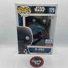 Funko Pop K-2SO With Blaster #179 2017 NYCC New York Official Con Sticker Star W