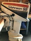Johnson 99 Vintage 1970s Outboard Motor