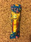 PEZ Yellow Emoji Smiley Face Poppin' Toothbrush Brush Buddies, Soft, 2017