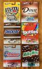 HOT WHEELS MM MARS SKITTLES MILKYWAY DOVE MUSKETEERS FULL SET 2013 POP CULTURE