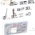 SINGER  Sewing Machine Accessory Kit Including 9 Presser Feet Twin Needle
