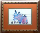 Amado Pena Jr Native American Signed Framed Matted Capture The Spirit Artwork