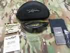 NEW WILEY X VAPOR ARMY SHATERPROOF SUNGLASSES KIT APEL GREY CLEAR LENS WX Z87