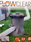 330 Gal Bestway Filter Pump FlowClear For Swimming Pool Replacement Parts