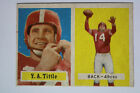 Top 10 Y.A. Tittle Football Cards 16