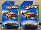 Hot Wheels SUPER 2009 TREASURE HUNT  REGULAR 49 MERC CONVERTIBLE Brown  Beige