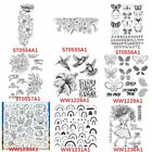 Transparent Clear Stamps Flower Animals for Diy Scrapbooking Making Cards
