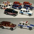 Matchbox 97 Chevy Tahoe Lot of 10 Different Variations Police Fire +more MINT