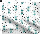 Native American Triangles Spoonflower Fabric by the Yard