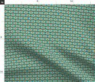 Native American India Bead Pattern Midwest Indian Spoonflower Fabric by the Yard