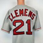 Russell Authentic Roger Clemens Boston Red Sox Jersey Vtg 90s MLB Diamond 48