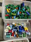Embroidery sewing Thread Lots of Spools Incl Metallics