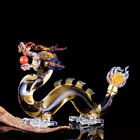 Whiskey Glass Decanter Bottle Display Dispense Quality Dragon Style Lead Free 1L