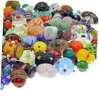 140 PCS Assorted Glass Beads for Jewelry Making Adults Bulk Glass 120 Multi