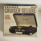 Crosley Cruiser Deluxe With Fleetwood Mac Beatles And Allman Brothers Records