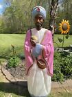 Vintage Empire Blow Mold Wise Man King Life Size lighted 60