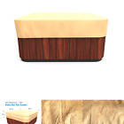 Budge P9A16SF1 All Seasons Square Hot Tub Cover Lightweight UV Resistant Me