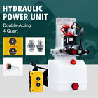 4qt 12V Double Acting Hydraulic Pump Power Unit for Scissor and Telescopic Lifts