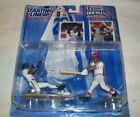 Hasbro c.1997 Starting Lineup Classic Doubles Ken Griffey Jr. figures w/ cards