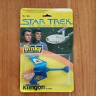 1979 Dinky Star Trek Klingon Cruiser Die Cast Metal Toy NWT NOS no 804