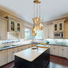 Pendant Hanging Lamp Kitchen Island Chandelier Glass Light Fixture Dining Room