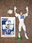 1988 Duane Bickett Kenner Starting Lineup Indianapolis Colts Loose
