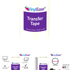 Vinyl Ease 12 x 300 Roll Clear Application Transfer Tape for Cricut Silh