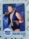 Custom Rookie WWF Legend WCW Mean Mark Callous - The Undertaker 1989 rc