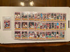 1984 Topps USFL Complete Set (132) In Plastic Sheets Kelly, Young, White RC