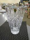 New Waterford Crystal Normandy Vase 10 inches Made in Slovenia