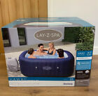 Lay Z Spa Hawaii 4 6 Person Hot Tub Square Inflatable Jacuzzi  Brand New